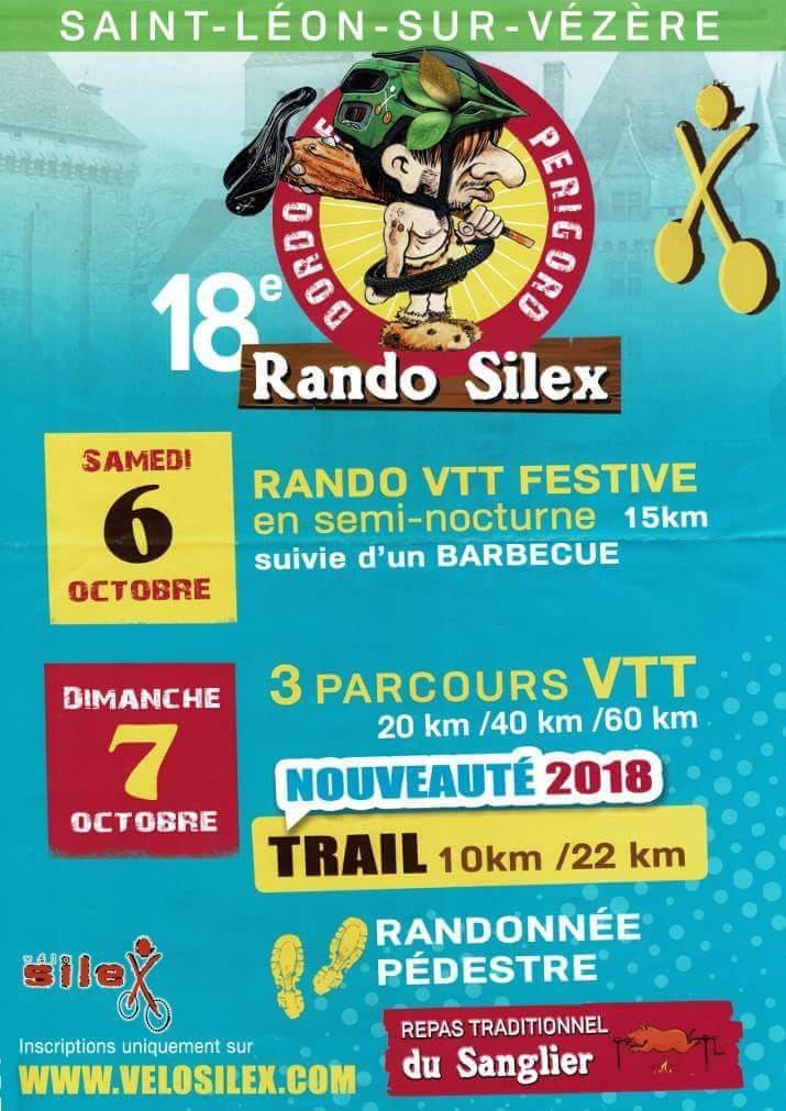 18ème Rando Silex à Saint Léon sur Vézère le 06 et 07 Octobre 2018 Fb_img23