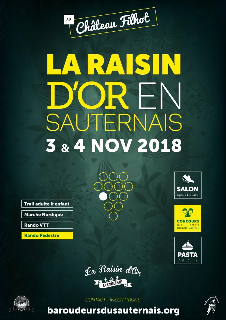 Rando La Raisin d'or le 3 et 4 Novembre 2018 Raisin10