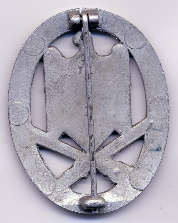 2 badges d'assaut général Asa_as10