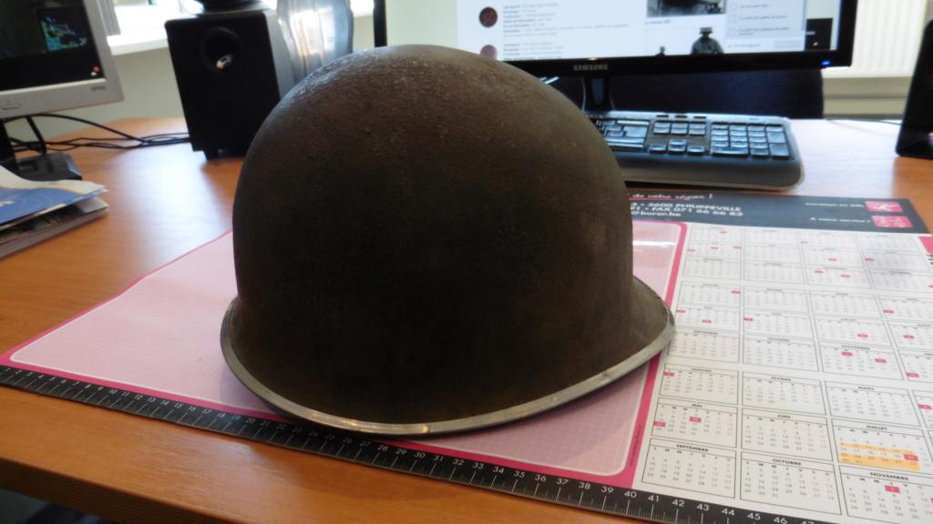 Reconnaissance d'un casque M1 américain P1010913