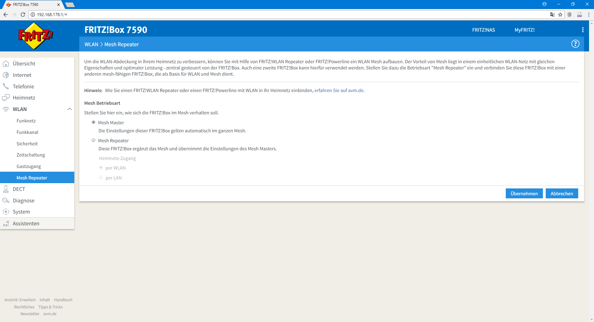 FRITZ OS 7 - E' ARRIVATO OGGI 22 agosto SOLO per 7590 e 4040 !! Screen16