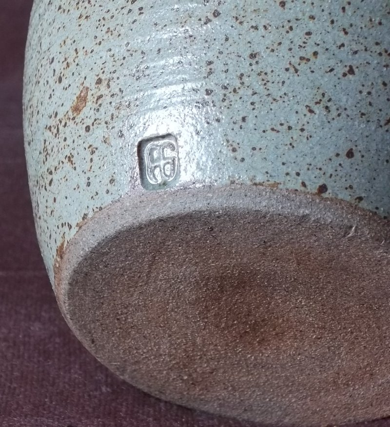 Stoneware container. 100_4056
