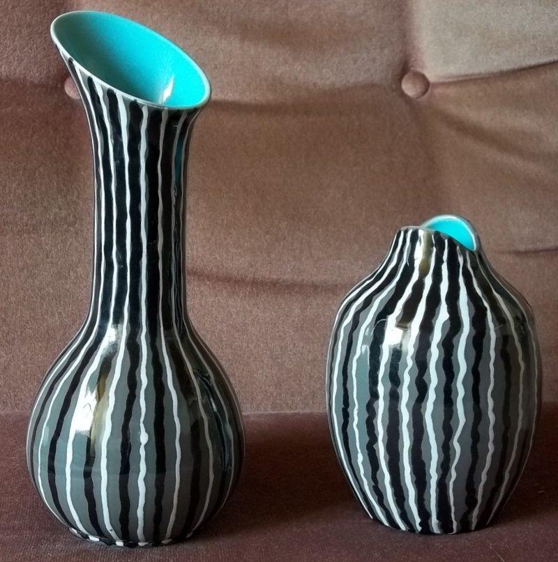 Two 50s style vases - Beswick 1351/1399 100_4110