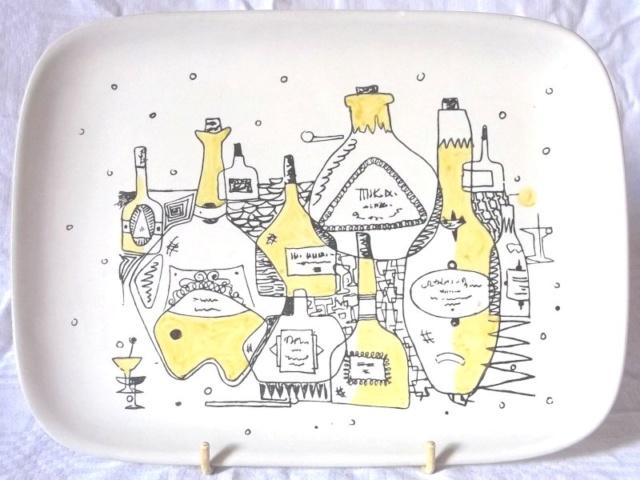 """Denby pottery """"Tigo ware"""" Tibor Reich designs 100_4251"""