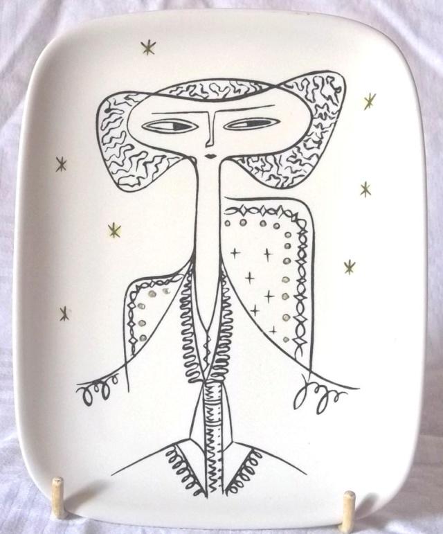 """Denby pottery """"Tigo ware"""" Tibor Reich designs 100_4253"""