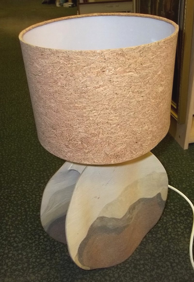 Studio lamp. Chadwick Thomas pottery. 100_4410