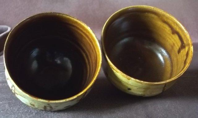 2 x stoneware teabowls 100_4582