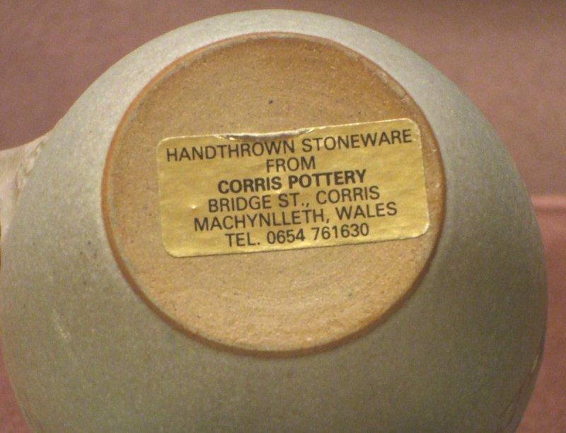 Dave Wallbridge, Corris pottery (Wales). Dscf0712