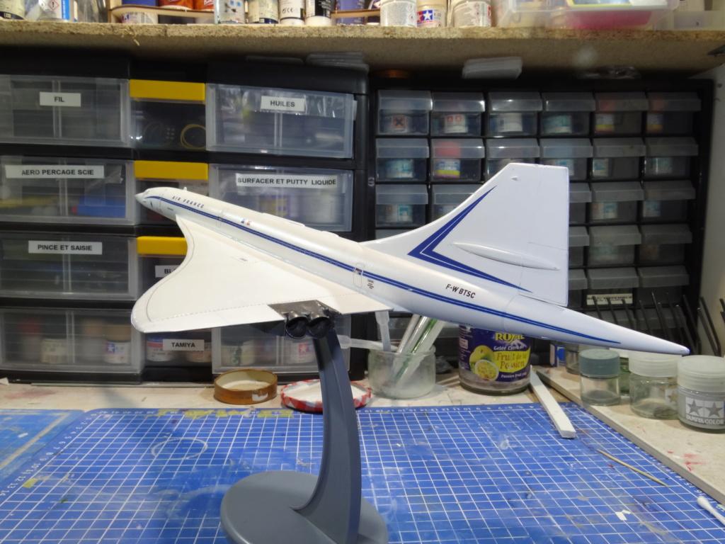 SUD AVIATION - BRITISH AIRCRAFT CORPORATION  CONCORDE Cie AIR FRANCE 1/125ème Réf 850 Concor10