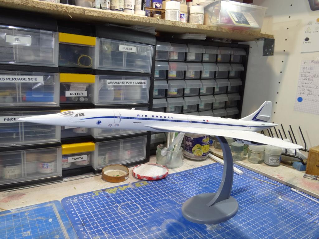 SUD AVIATION - BRITISH AIRCRAFT CORPORATION  CONCORDE Cie AIR FRANCE 1/125ème Réf 850 Concor11