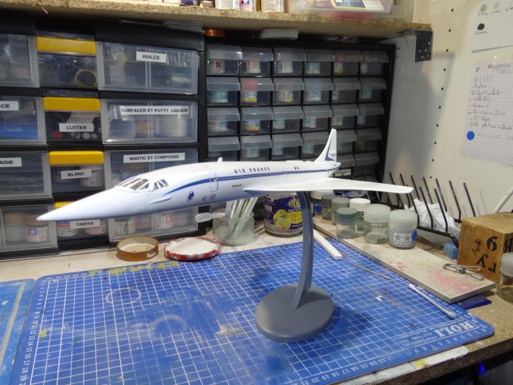 SUD AVIATION - BRITISH AIRCRAFT CORPORATION  CONCORDE Cie AIR FRANCE 1/125ème Réf 850 Concor13