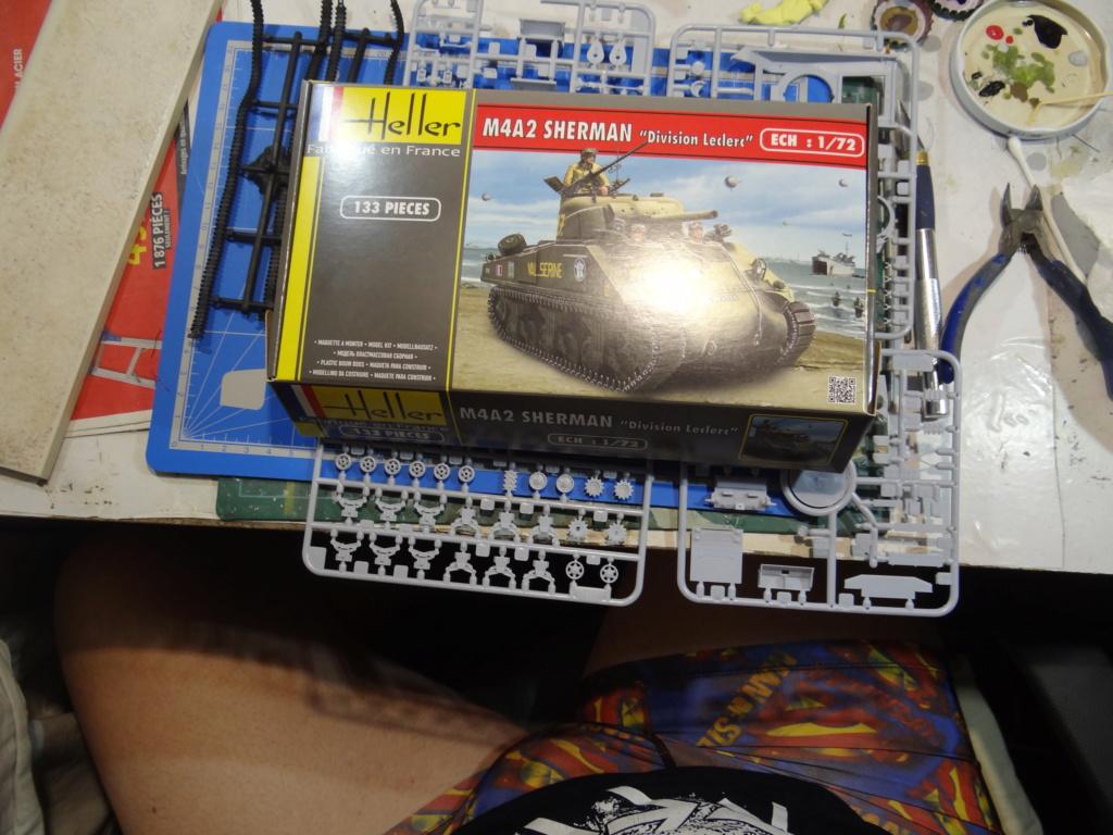 Sherman M4 heller 2e DB Heller 1/72  Dsc07414