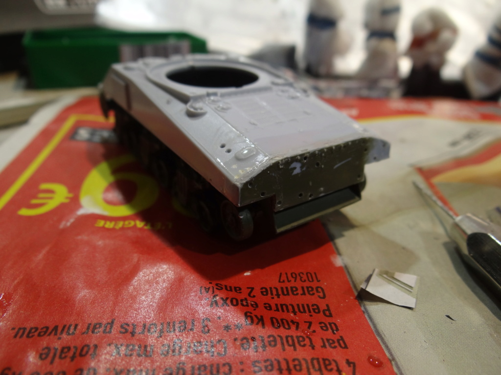 Sherman M4 heller 2e DB Heller 1/72  Dsc07420
