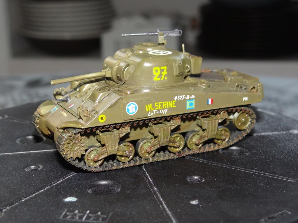 Sherman M4 heller 2e DB Heller 1/72  Dsc07440