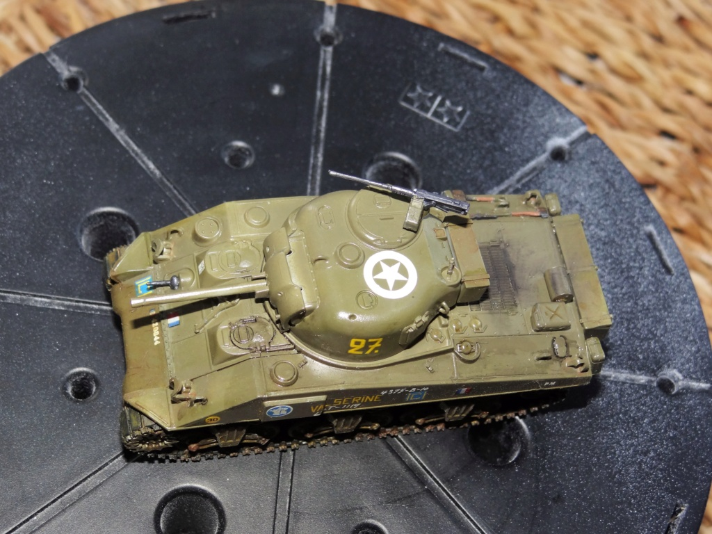 Sherman M4 heller 2e DB Heller 1/72  Dsc07441