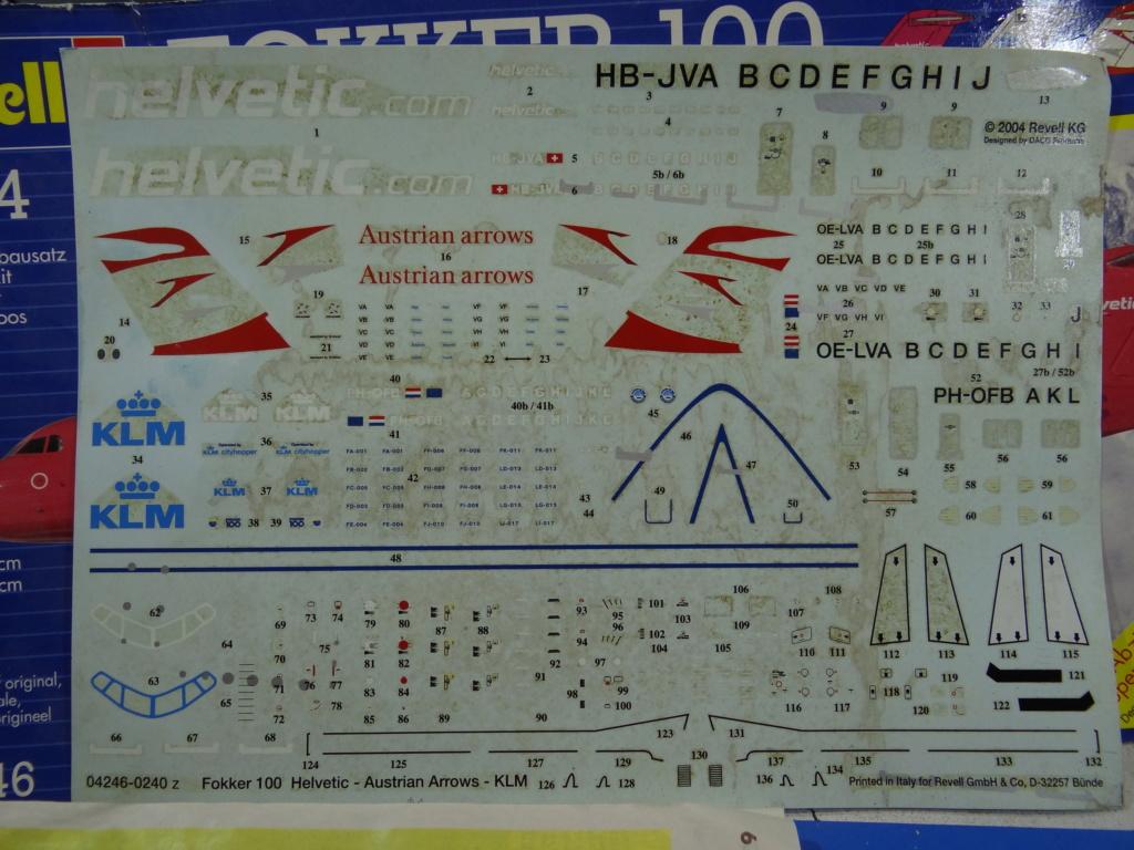 Fokker F100 TAT revell 1/144 Dsc07446