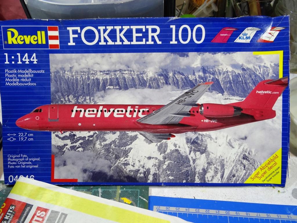 Fokker F100 TAT revell 1/144 Dsc07447