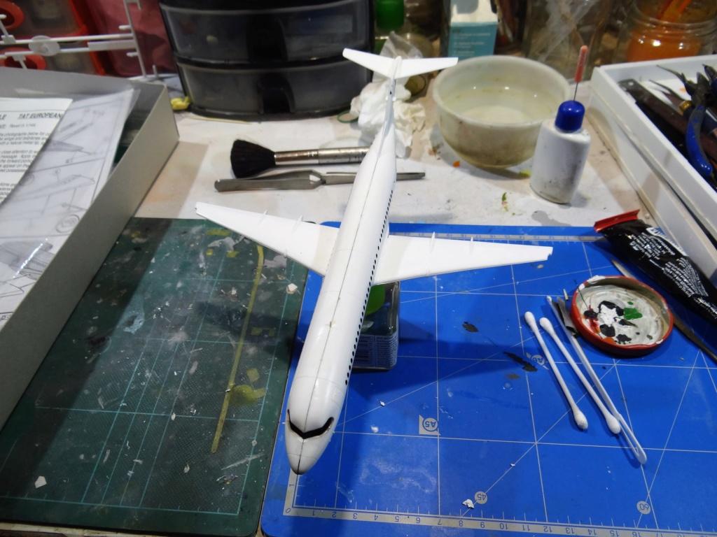 Fokker F100 TAT revell 1/144 Dsc07510