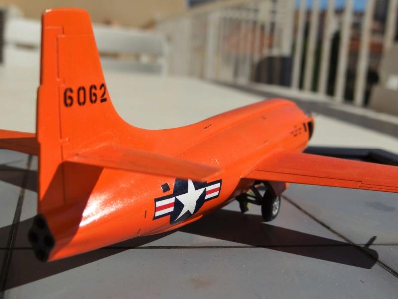 Bell X1 eduard 1/48  - Page 2 Dsc07614