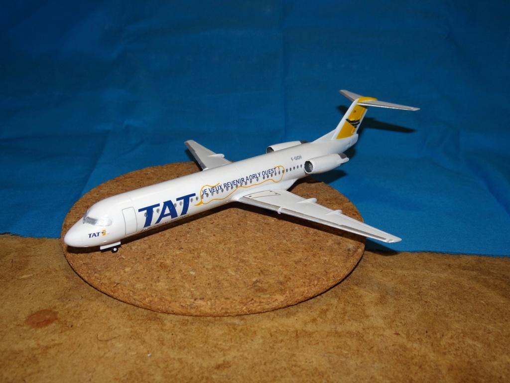 Fokker F100 TAT revell 1/144 Dsc07626