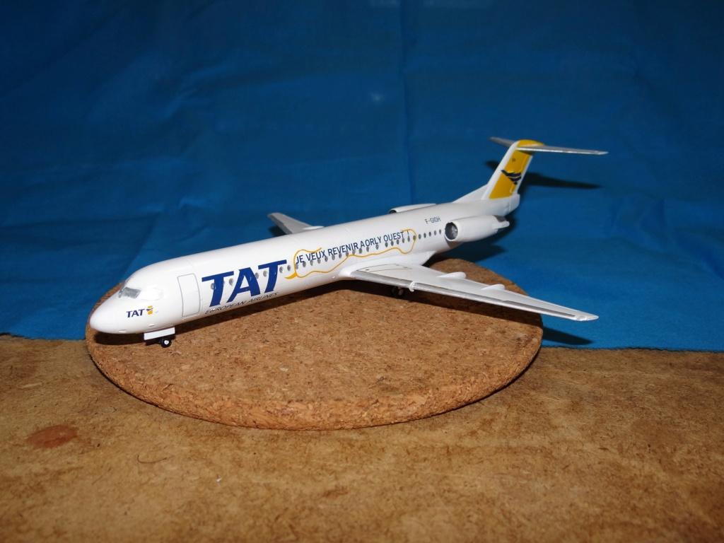 Fokker F100 TAT revell 1/144 Dsc07627