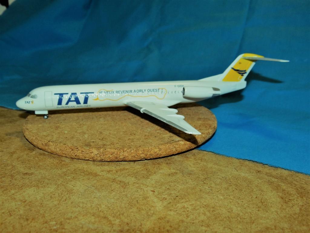 Fokker F100 TAT revell 1/144 Dsc07628