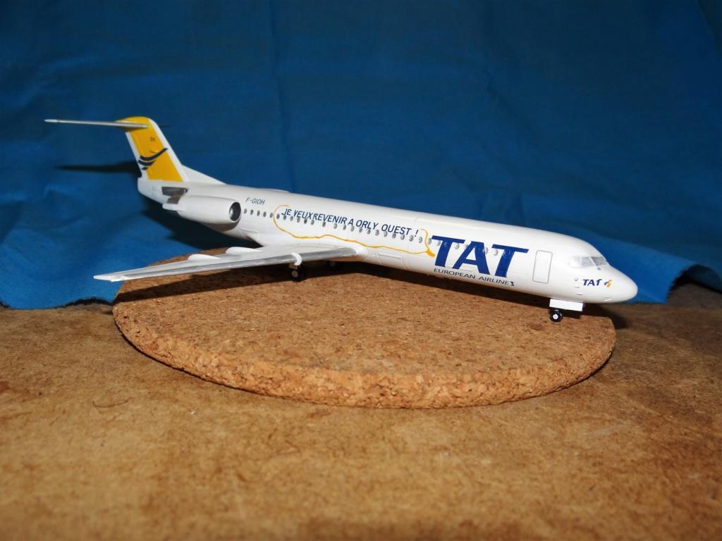 Fokker F100 TAT revell 1/144 Dsc07630
