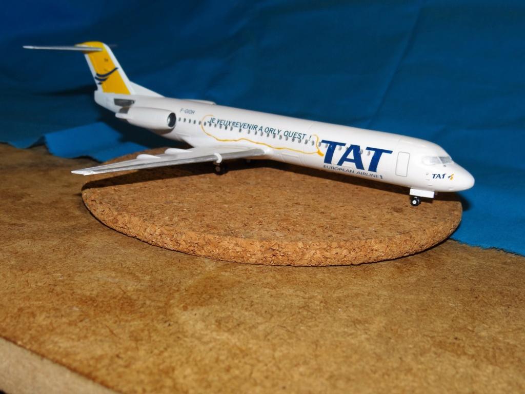 Fokker F100 TAT revell 1/144 Dsc07631