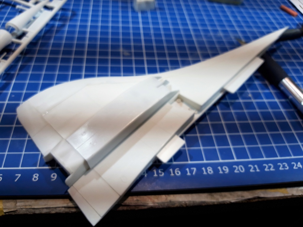SUD AVIATION - BRITISH AIRCRAFT CORPORATION  CONCORDE Cie AIR FRANCE 1/125ème Réf 850 Montag12