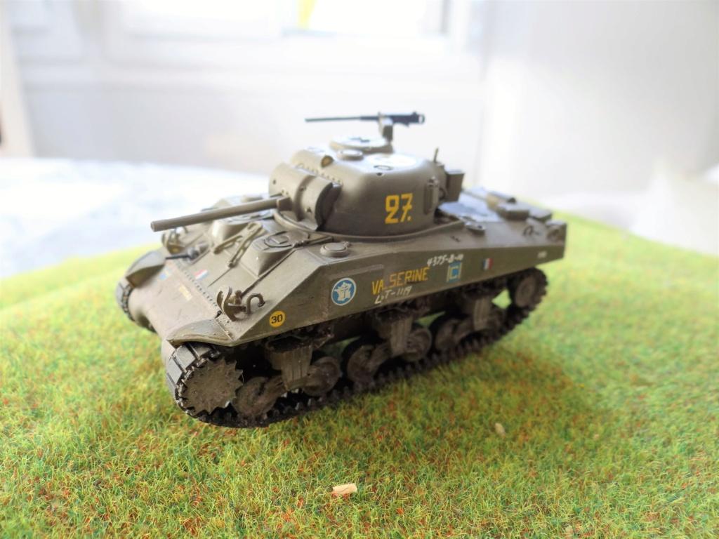 Sherman M4 heller 2e DB Heller 1/72  Sherma12