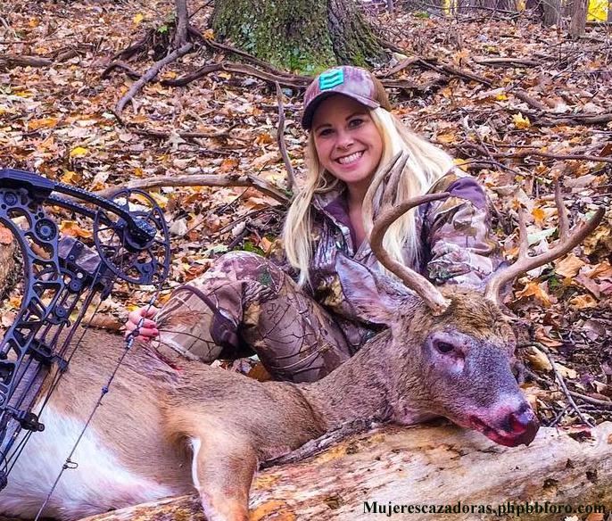 La cazadora norteamericana Kelsey Renee Harris Kelsre10