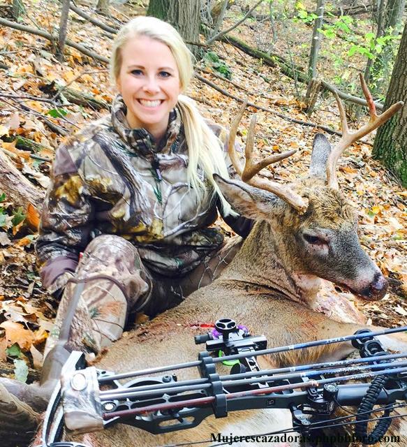 La cazadora norteamericana Kelsey Renee Harris Kelsre12