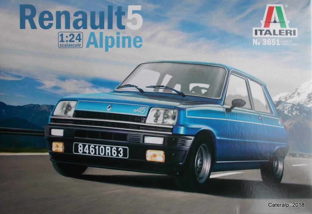 [ Italeri ] Renault 5 Alpine  00110