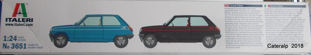 [ Italeri ] Renault 5 Alpine  00210