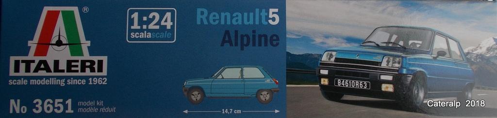 [ Italeri ] Renault 5 Alpine  00310