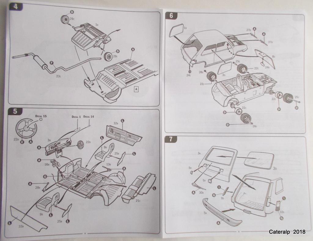 [ Italeri ] Renault 5 Alpine  00910