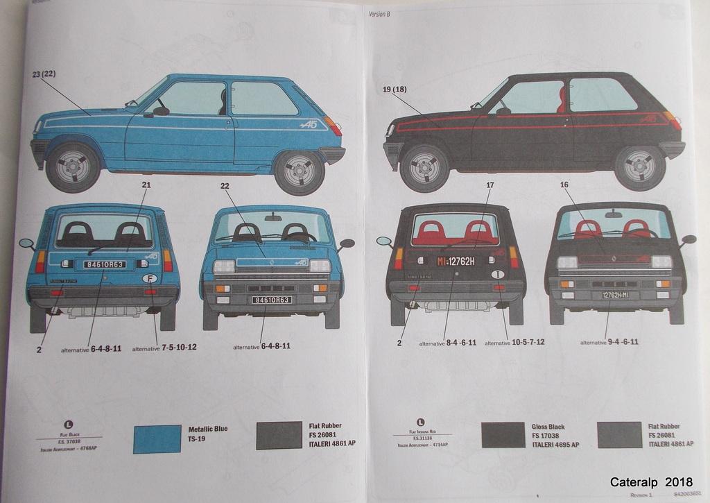 [ Italeri ] Renault 5 Alpine  01110