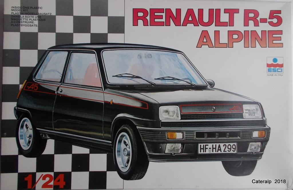 [ Italeri ] Renault 5 Alpine  02711