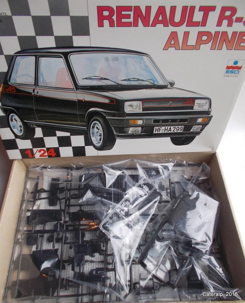 [ Italeri ] Renault 5 Alpine  02810