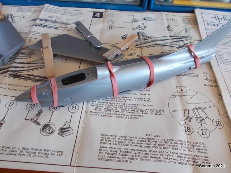 Montage chrono [HELLER BUZC0] FIAT G91 1/50ème Réf 304.250 Ailes_12
