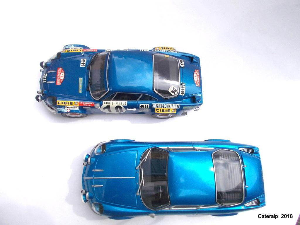 """ALPINE A110 1600S """"berlinette"""" - 1/24e ref 80745 (Réedition 2018 -scoop pour Heller-forever ) Alpine12"""