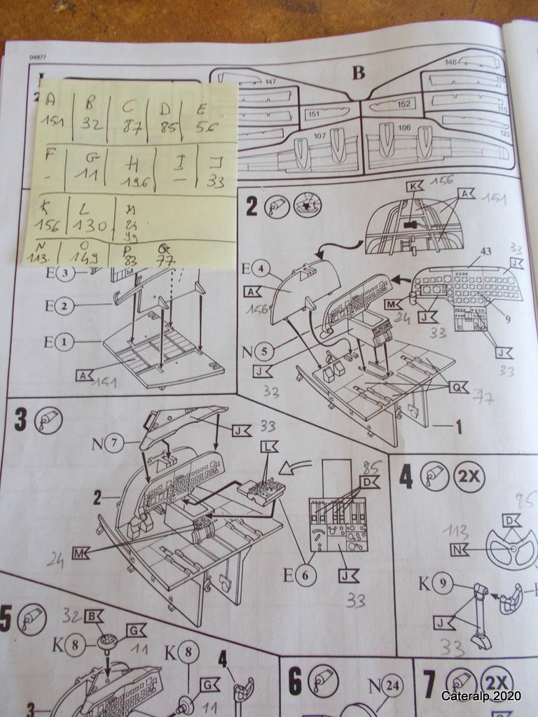 [REVELL] DOUGLAS DC 4 déco AIR FRANCE Réf  04877 B26_et18
