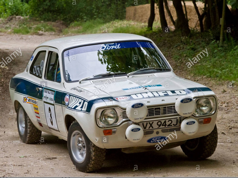 [BELKITS] FORD ESCORT RS 1600 Mk1 Rallye RAC 1972 Réf BEL007 Captu138
