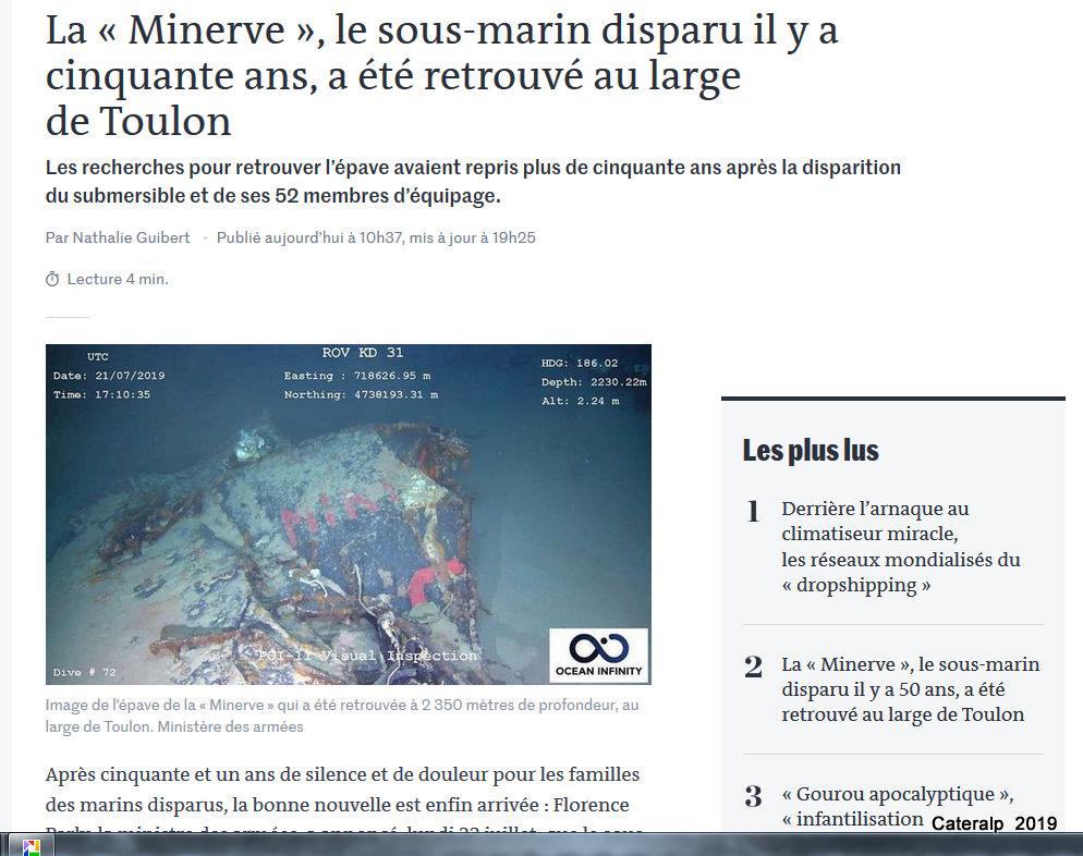 Sous marin Minerve Captur39