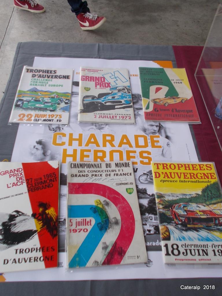 Charade Heroes les 60 ans du circuit de Charade  Charad58