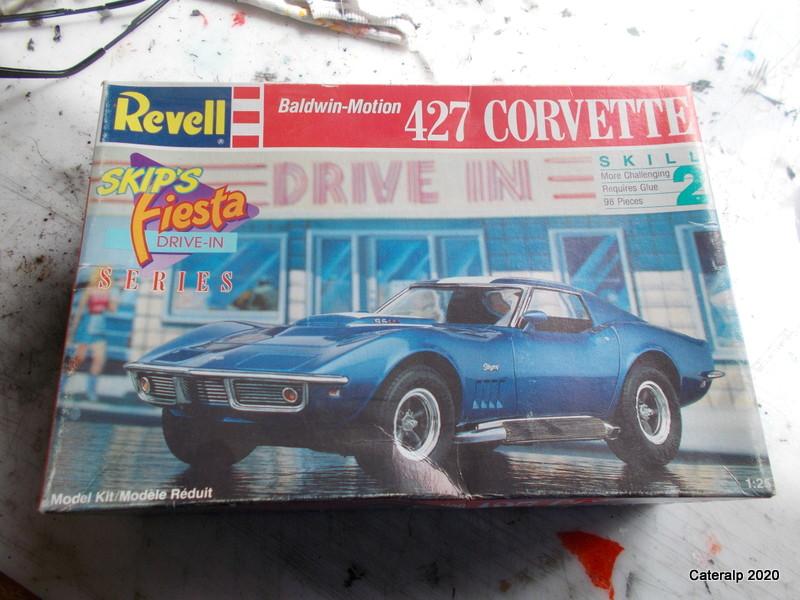 [REVELL] CHEVROLET CORVETTE 427 C3 Réf 7427 Corvet11