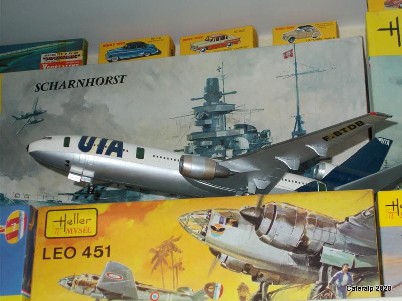 [REVELL] DOUGLAS DC 4 déco AIR FRANCE Réf  04877 - Page 2 Dc_10_10