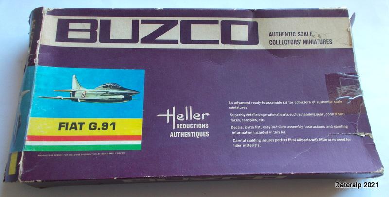 Montage chrono [HELLER BUZC0] FIAT G91 1/50ème Réf 304.250 Fiat_g11