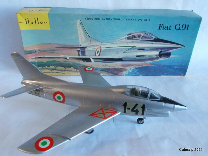Montage chrono [HELLER BUZC0] FIAT G91 1/50ème Réf 304.250 - Page 2 Fiat_g23