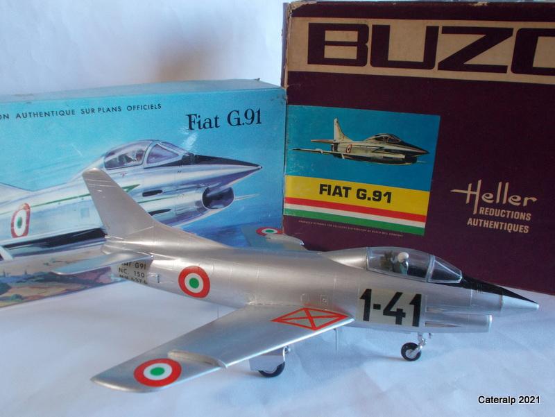 Montage chrono [HELLER BUZC0] FIAT G91 1/50ème Réf 304.250 - Page 2 Fiat_g24